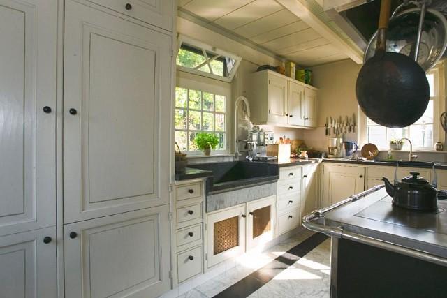 keuken in historisch interieur